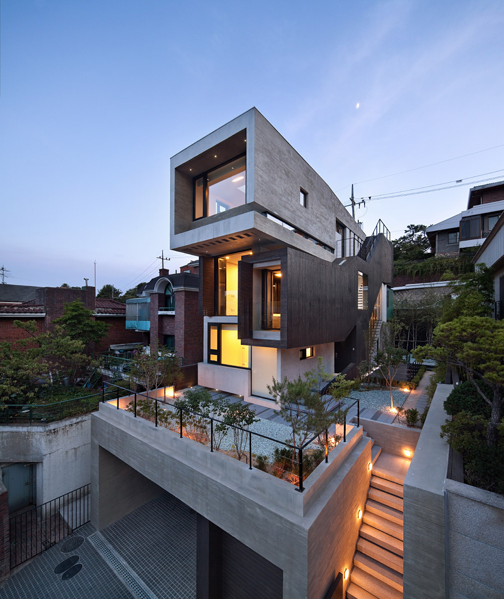 modern house home coordinator korea