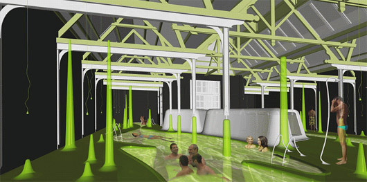 Dutch Interior Architecture Student Wins Prize For Bathhouse