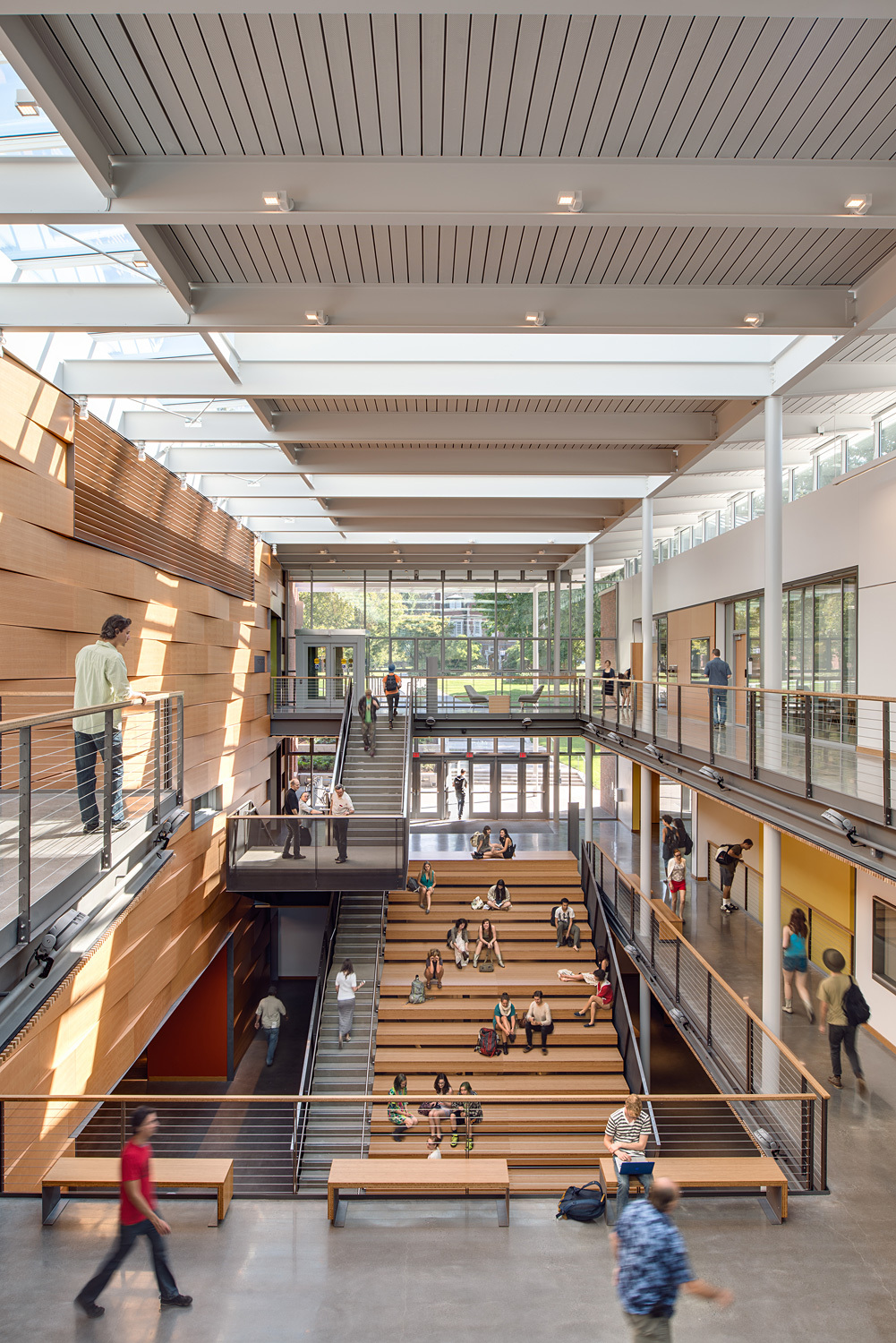 Winners of the aia cae 2015 education facility design awards for College building design