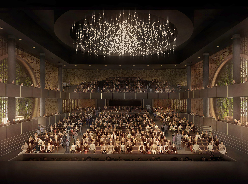Bing thom ronald lu chosen to design xiqu centre at west for Beijing opera house architect