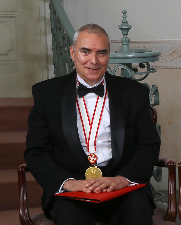 Dominique perrault presented with the 2015 praemium for Praemium imperiale
