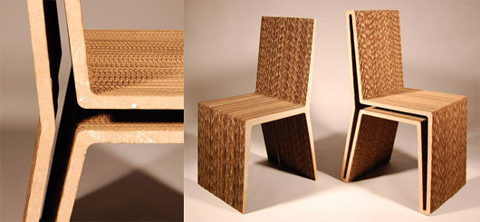 Corrugated Cardboard Chair finalists of cardboard chair design student competition unveiled
