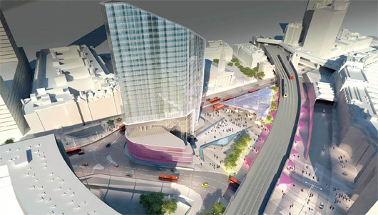 Dsdha wins london 39 s waterloo city square project for Architecture firms waterloo