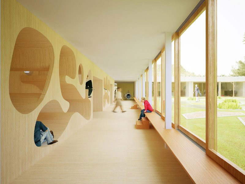 Knokke Heist School Building By NL Architects