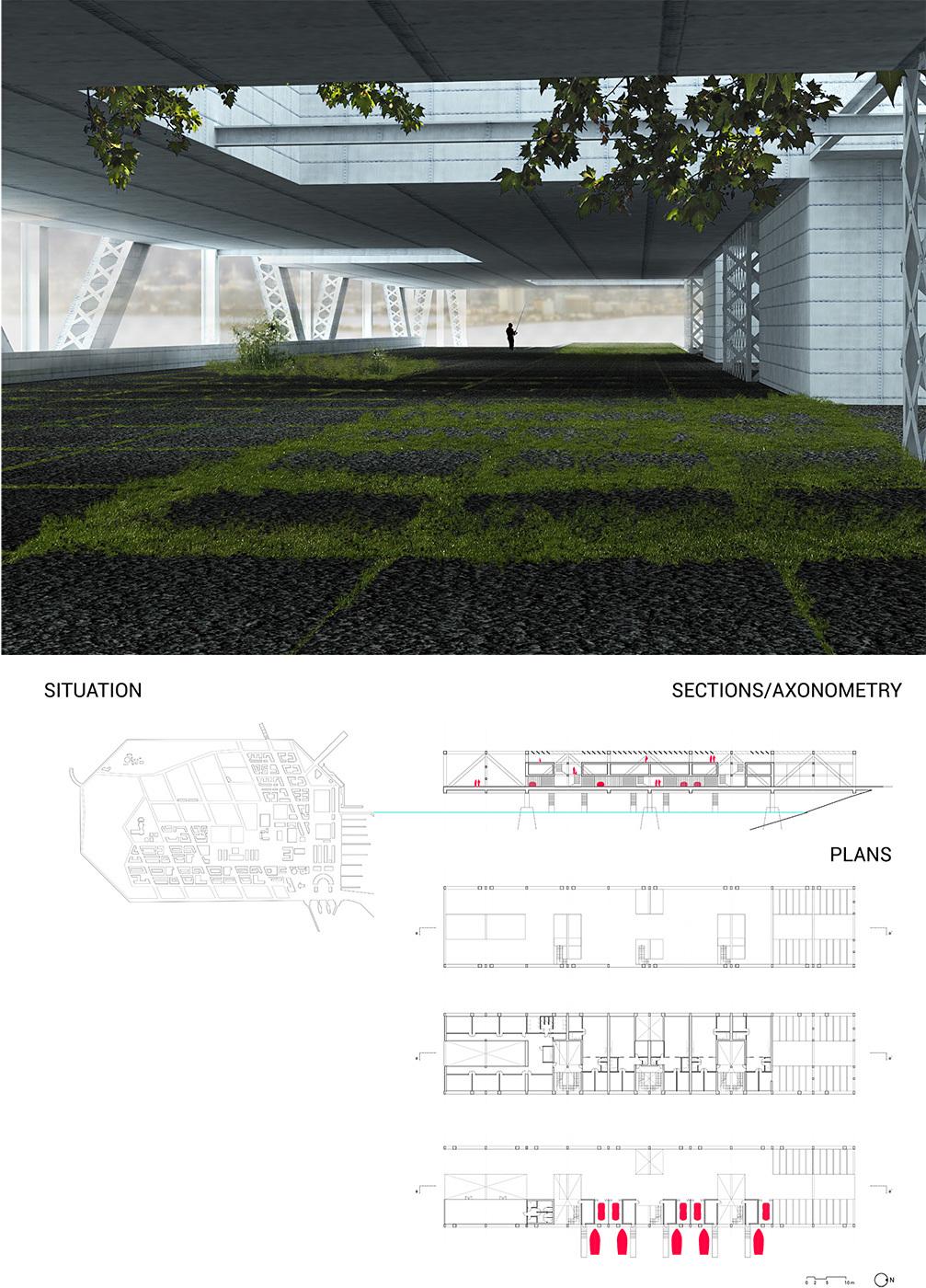 Bay bridge house project