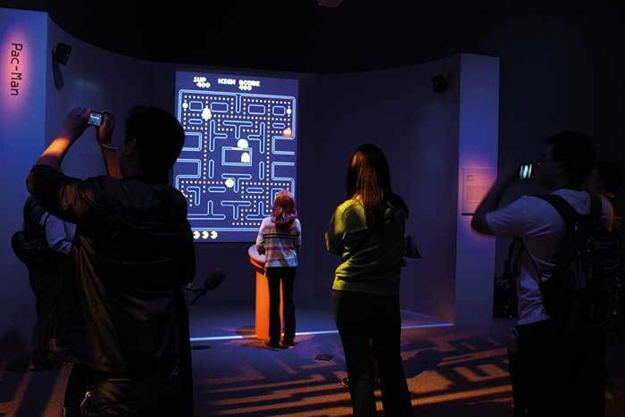 "Impression from the ""Art of the Video Game"" exhibition at the Smithsonian American Art Museum. (Image via theartnewspaper.com)"