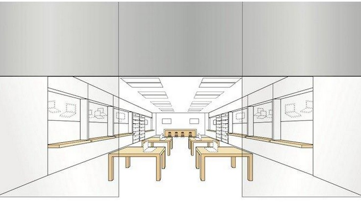 Apples trademark layout
