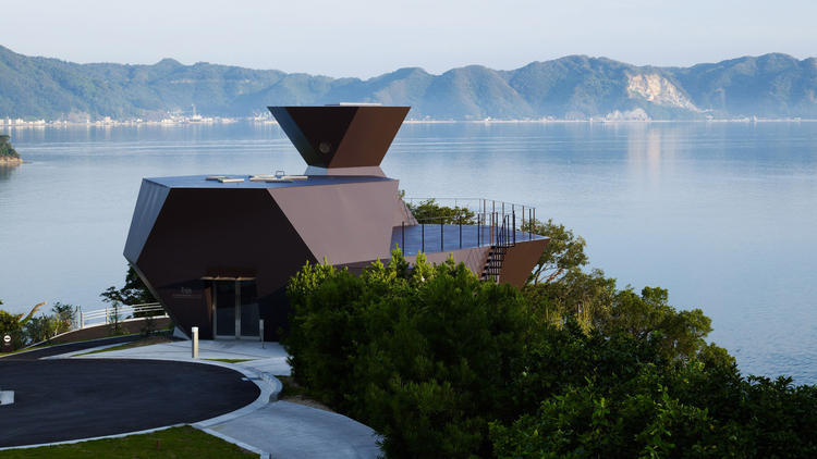 Toyo Ito Museum of Architecture, Omishima Island, Japan Courtesy of Toyo Ito and Associates, Architects / Daici Ano The Toyo Ito Museum of Architecture on Omishima Island was designed by Ito himself. Image via latimes.com