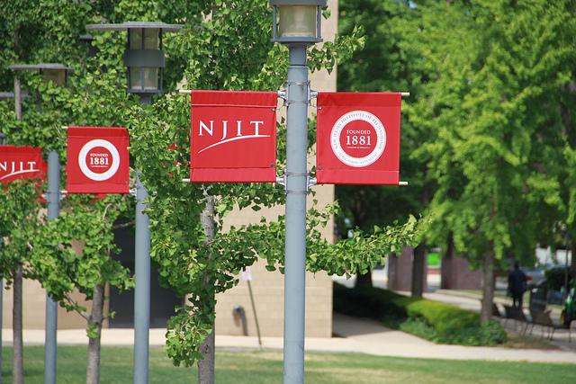 NJIT campus via flickr user Romer Jed Medina.