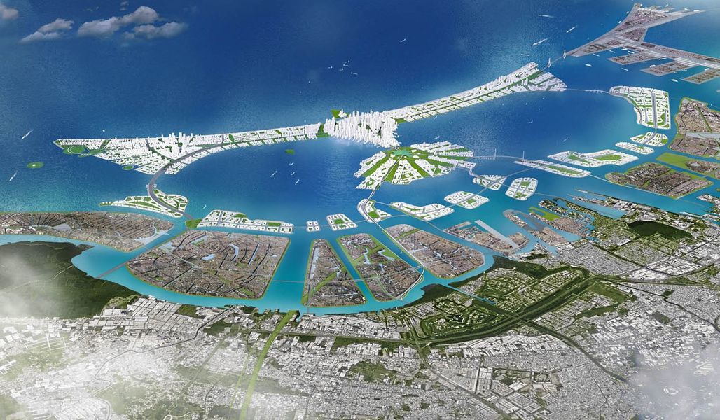 A rendering of the project. (Courtesy of KuiperCompagnons, via qz.com)