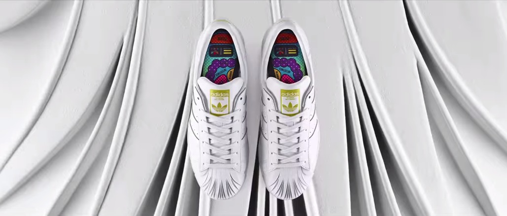 "Screenshot via ""adidas Originals = Pharrell Williams   Supershell x Zaha Hadid"" on youtube.com"