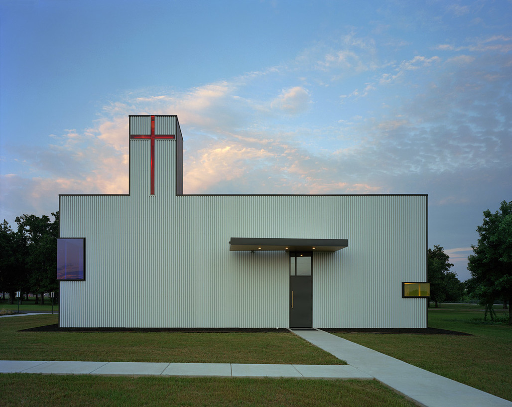 Saint Nicholas Antiochian Orthodox Christian Church; Springdale, AR by Marlon Blackwell Architect (Photo- Timothy Hursley)
