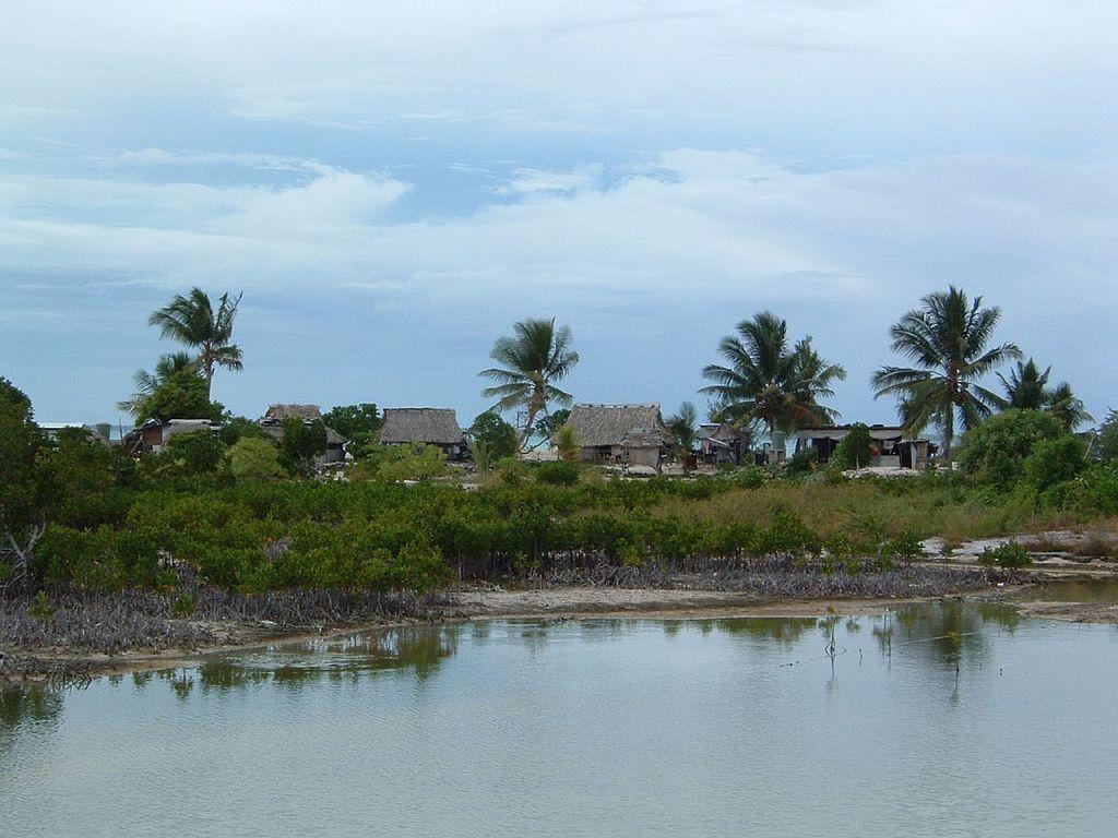 Tarawa on the small island nation of Kiribati. Credit: WikiCommons