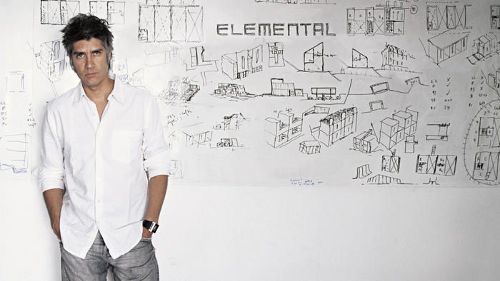Alejandro Aravena, founding partner of Elemental and a Pritzker Prize jury member, is the face of a new breed of Chilean architects. (Photo: Cristobal Palma / Elemental; Image via latimes.com)