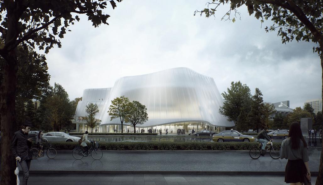 Credit: MAD Architects / China Philharmonic Concert Hall