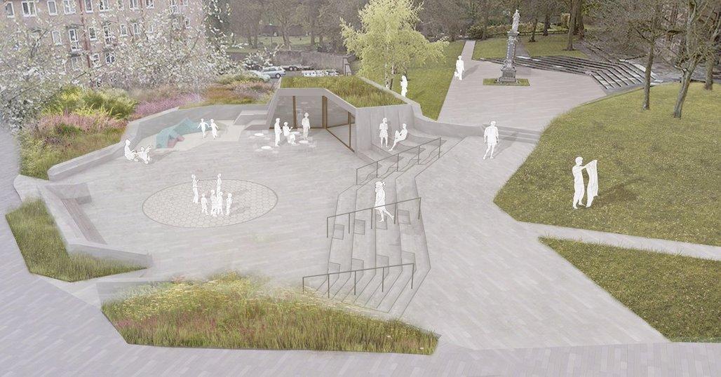 Riba reveals the shortlist for prescot market place for Landscape architects bath