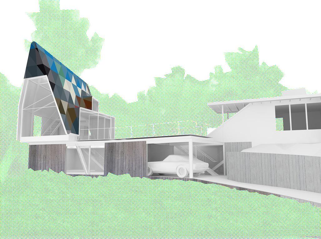 L.A-Frame House by Tim Durfee and Iris Anna Regn - NextLA Merit Award recipient.
