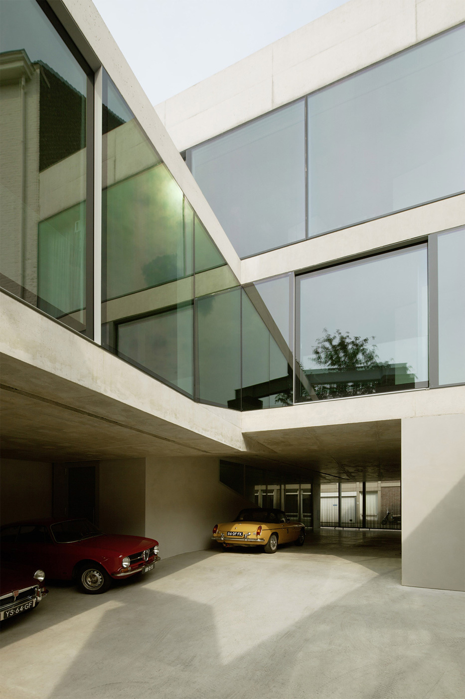 V House in Maastricht, the Netherlands by Wiel Arets Architects