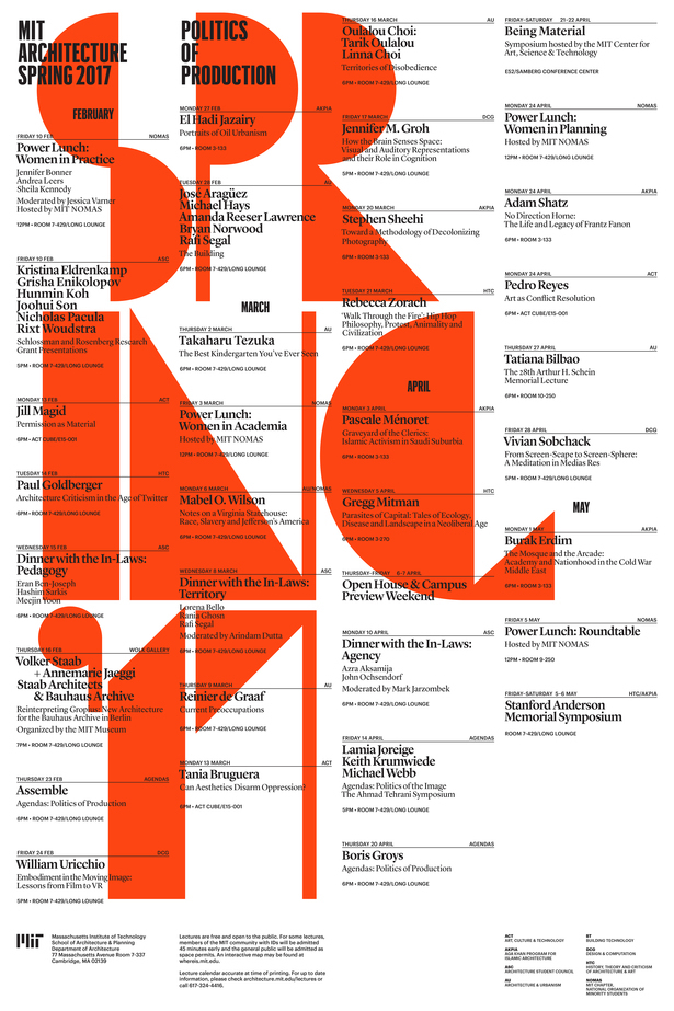 Poster via MIT Architecture.