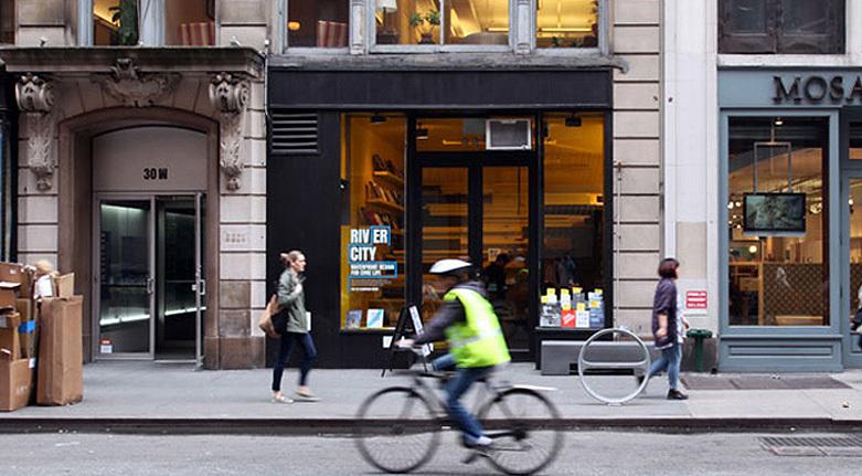 Van Alen Institutes ground floor space at 30 West 22nd Street in Manhattan
