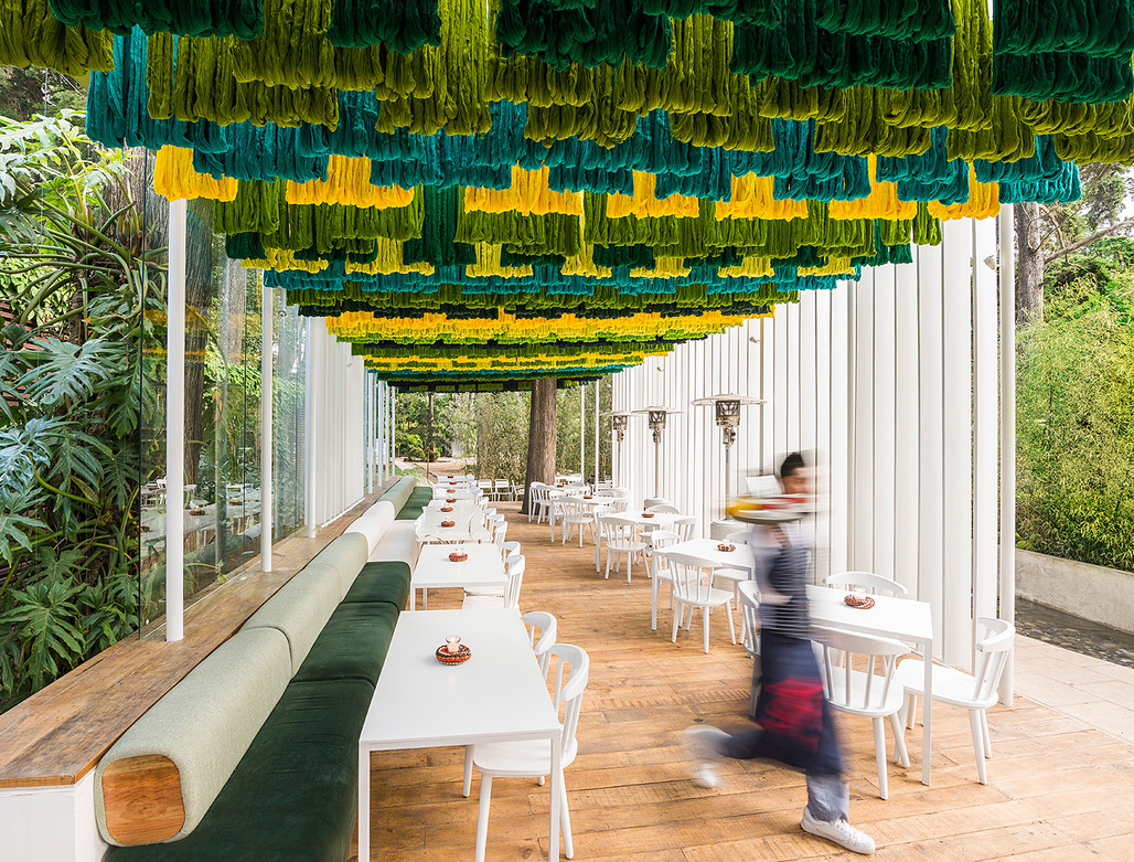 Taller KENs Zona 14 Canopy. Photo: Andres Asturias