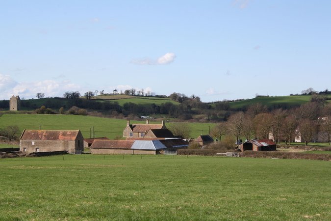 Durslade Farm, near Bruton, England, is being coverted by the Swiss art dealers Hauser & Wirth into a destination for art, architecture and the remarkable Somerset landscape. (NYT; Photo: Aaron Schuman)
