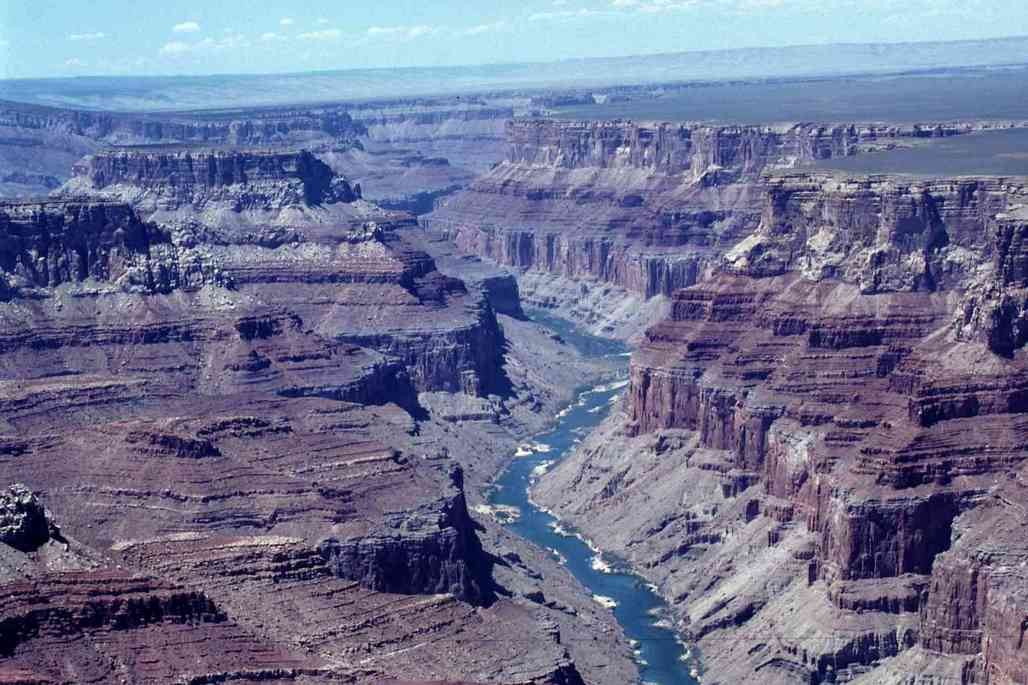 Researches have found significant mercury and selenium contamination in the Grand Canyon. Credit: Wikipedia