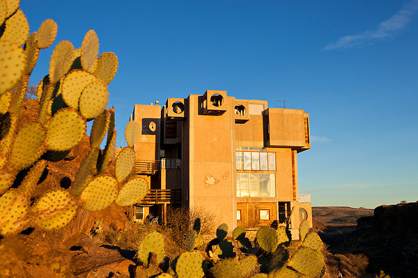 Arcosanti photo by John Burcham for The New York Times