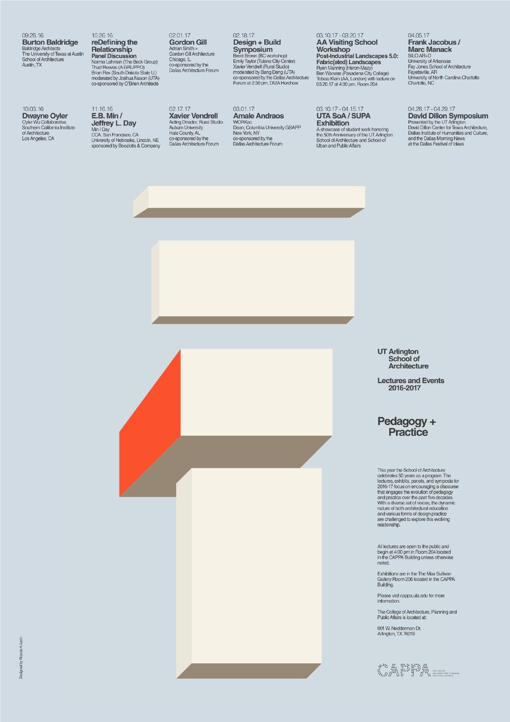 Poster designed by Ricardo A. León. Courtesy of the designer.