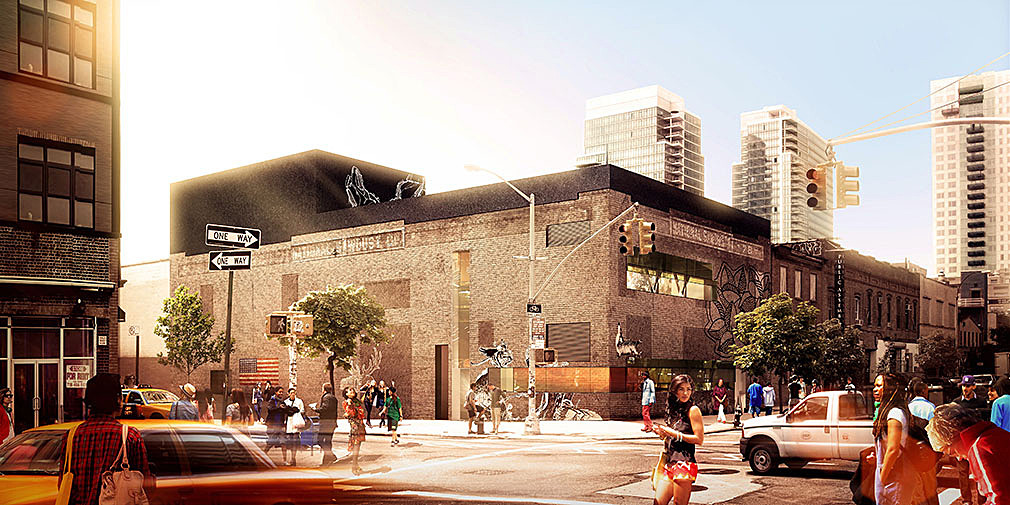 The National Sawdust / Original Music Workshop venue in Brooklyn, NY. Image: Bureau V.