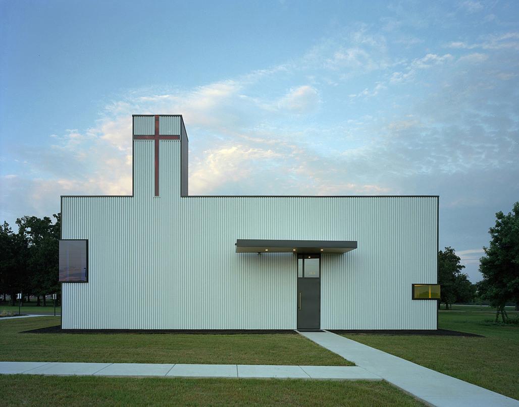 World Civic and Community Building of the Year: Saint Nicholas Antiochian Orthodox Christian Church, USA, Marlon Blackwell Architect