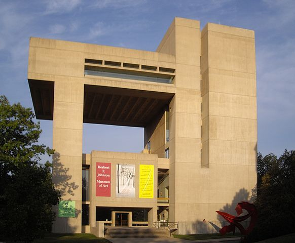 Cornell Universitys Johnson Museum of Art. Photo by Dmadeo via Wikipedia.