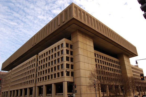 Are the days counted for the FBIs J. Edgar Hoover Building? Photo: Mark Plummer/Flickr; image via citylab.com