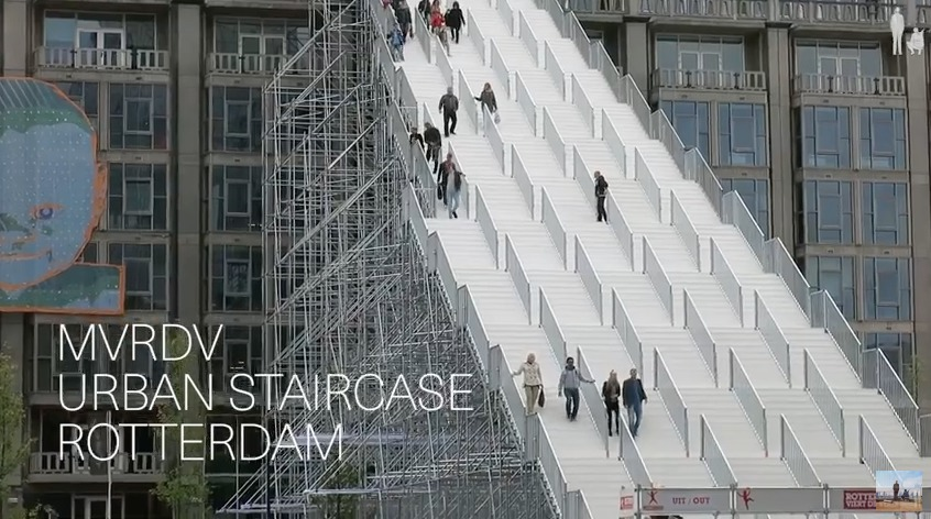 "Screenshot of ""The Stairs"" from #donotsettles YouTube video."
