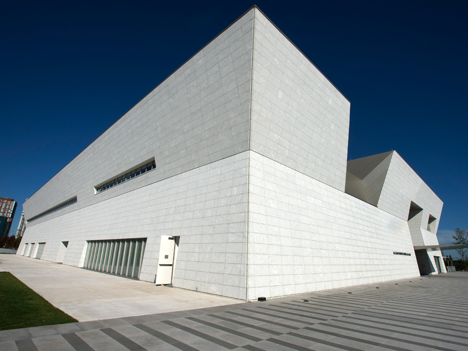 The Aga Khan Foundation will be opening a new museum, cultural center and prayer hall on Torontos Wynford Drive next week. (Peter J. Thompson/National Post)