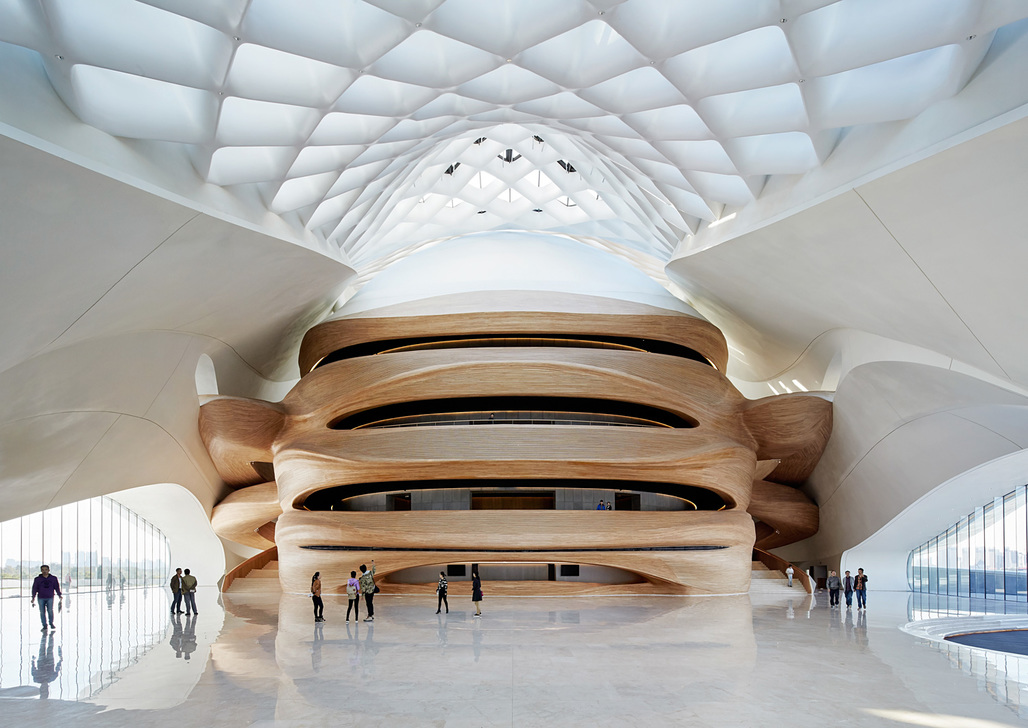 "Finalist in the category ""Architecture - Commercial and institutional buildings over 1,000 square meters:"" Opera House in Harbin, China by MAD Architects"
