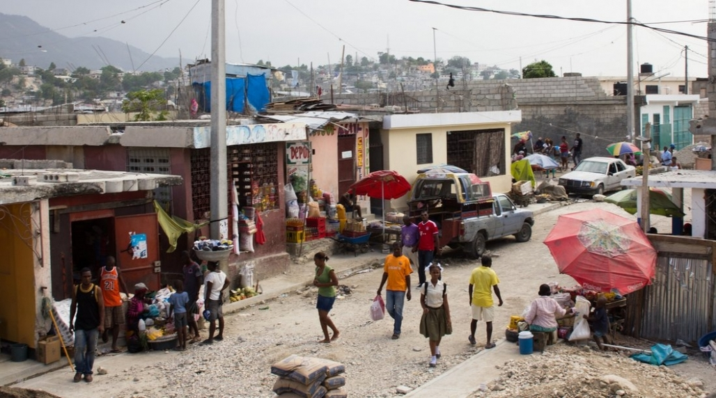 The Delmas 32 neighborhood in Port-au-Prince in 2015. (Photo: Flavie Halais; Image via citiscope.org)
