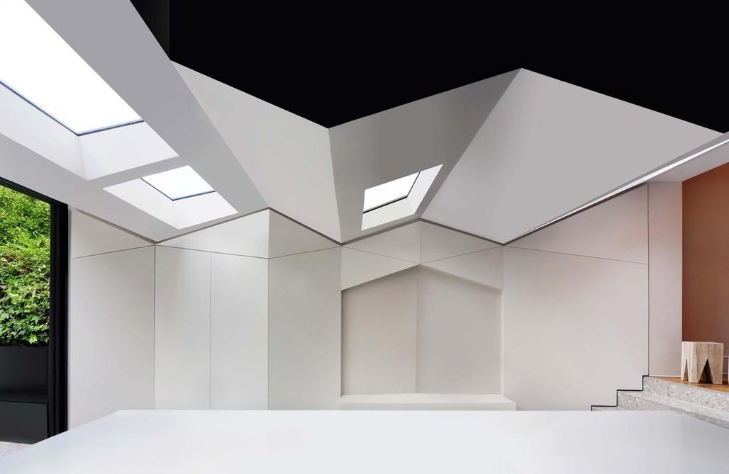 Folds House by Bureau de Change.