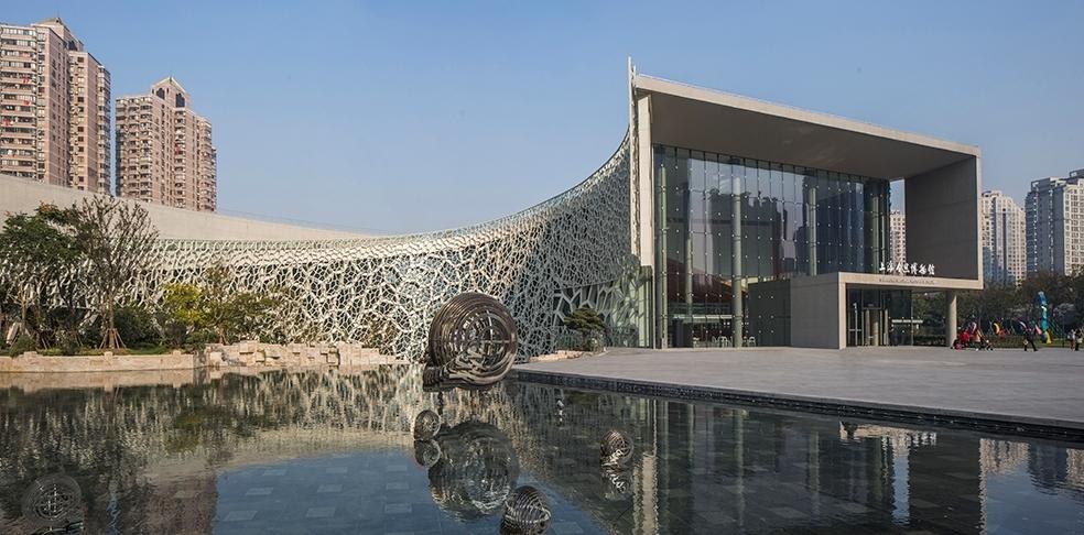 Perkins + Wills Shanghai Natural History Museum.