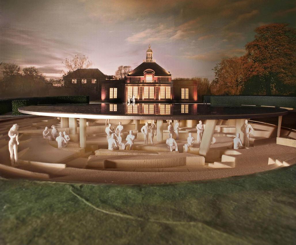 Serpentine Gallery Pavilion 2012, designed by Herzog & de Meuron & Ai Weiwei © 2012, by Herzog & de Meuron and Ai Weiwei