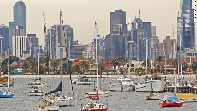 Known for its great weather and coffee culture, Melbourne is the most liveable city for the fourth year running. Excellent healthcare, education and infrastructure also helped earn this Australian city top honors. Photo via cnn.com