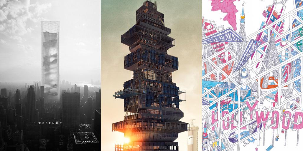 Winners of the 2015 eVolo Skyscraper Competition. All images courtesy of eVolo Magazine.