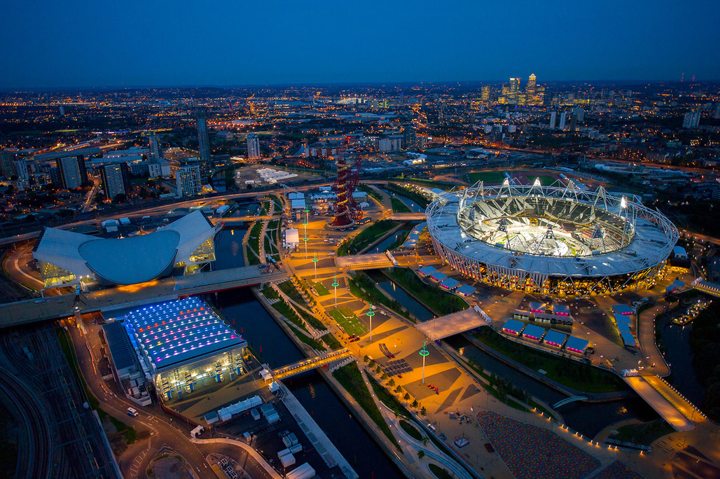 London: Olympic Master Plan, E20 by Allies and Morrison (Photo: Jason Hawkes)
