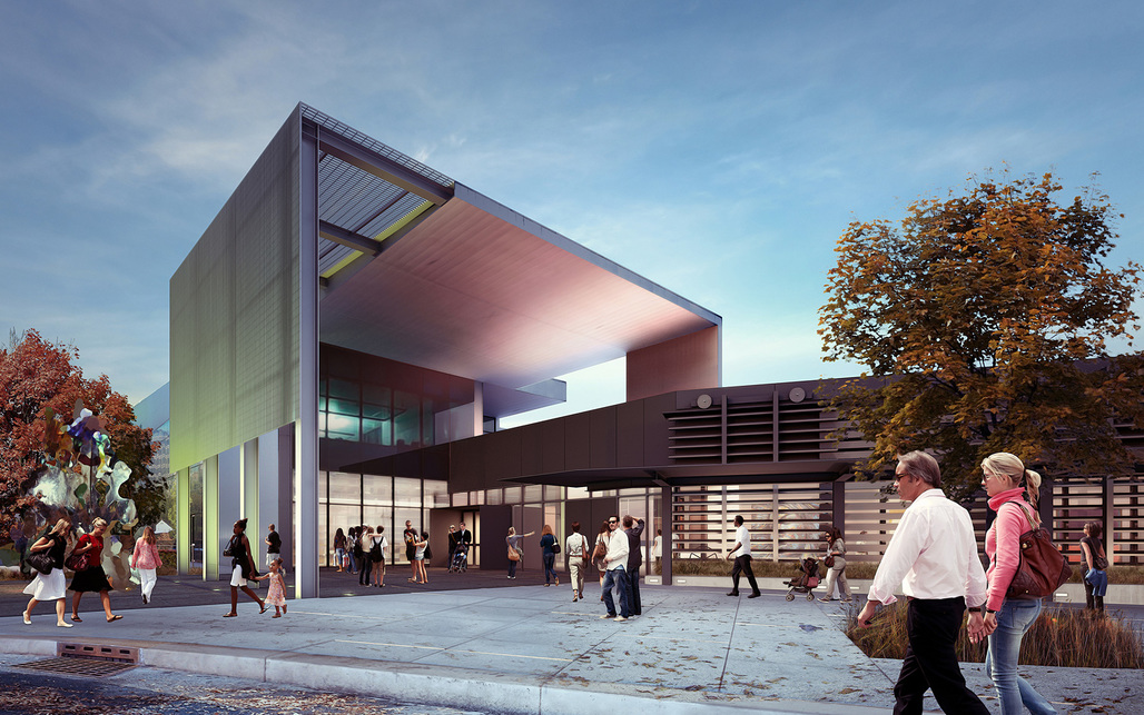 Tacoma Art Museum - Haub Gallery Addition by Olson Kundig Architects.