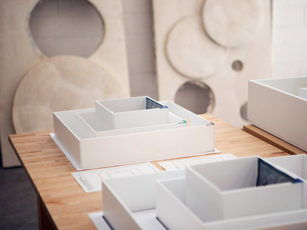 maquettes for Moun Room Sam Comen for the NYT