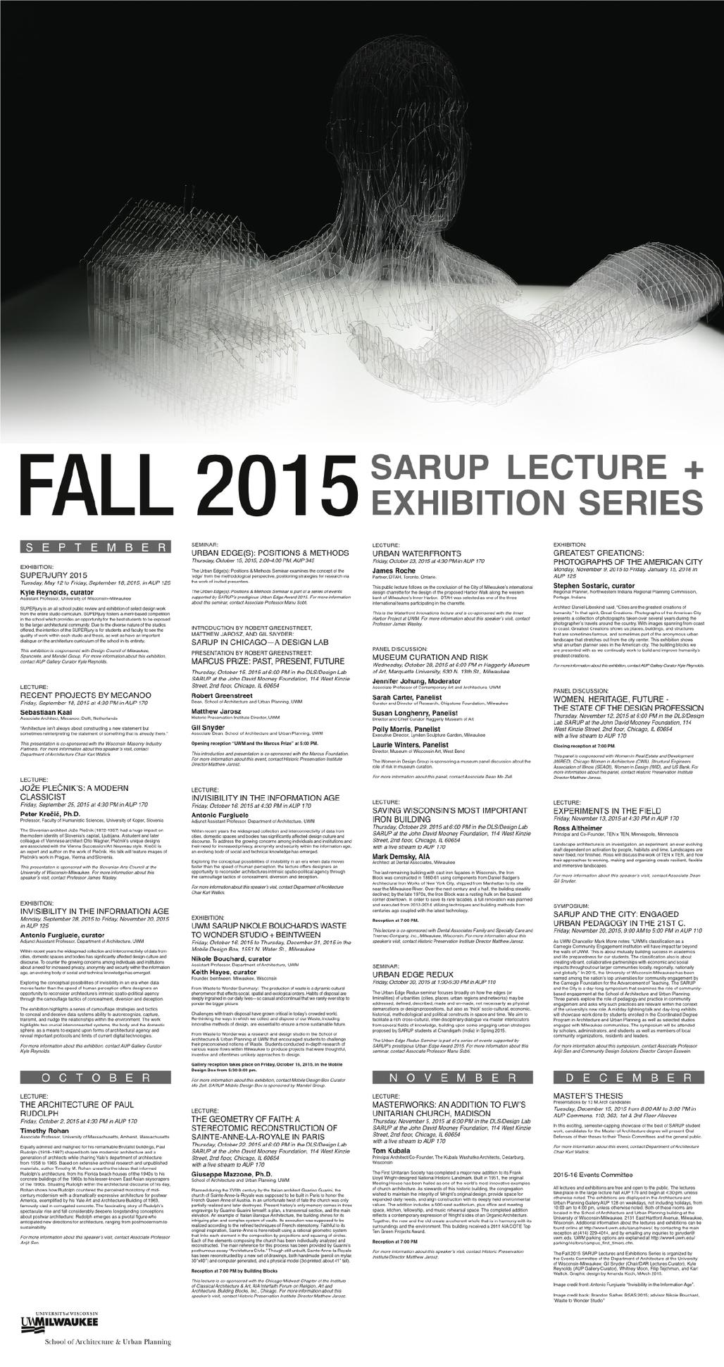 Courtesy of University of Wisconsin Milwaukee SARUP.