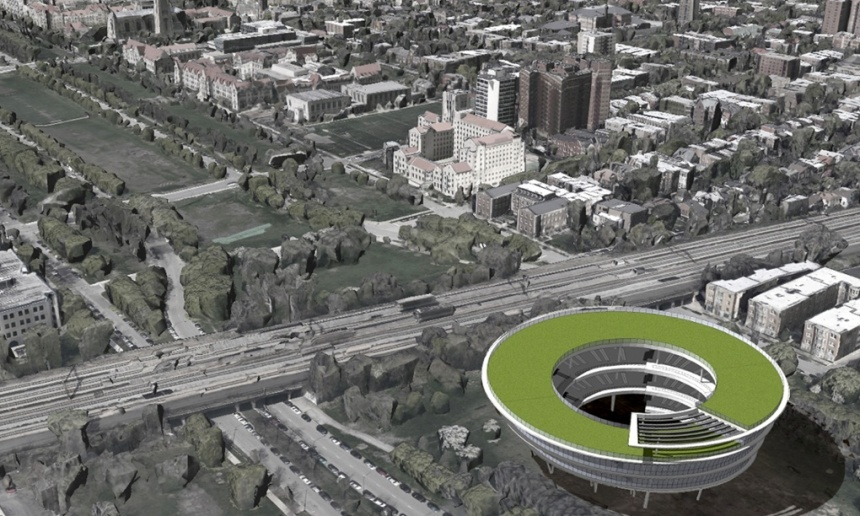Sketch by Richard Dattner of a potential Obama Presidential Library. (via theguardian.com)