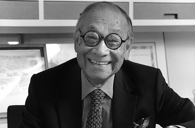 I.M. Pei (Photo: Victor Orlewicz)