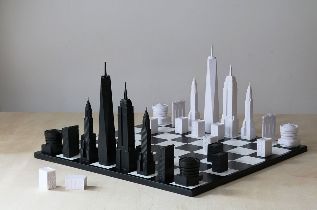 Skyline Chess, NYC edition. Image: Skyline Chess