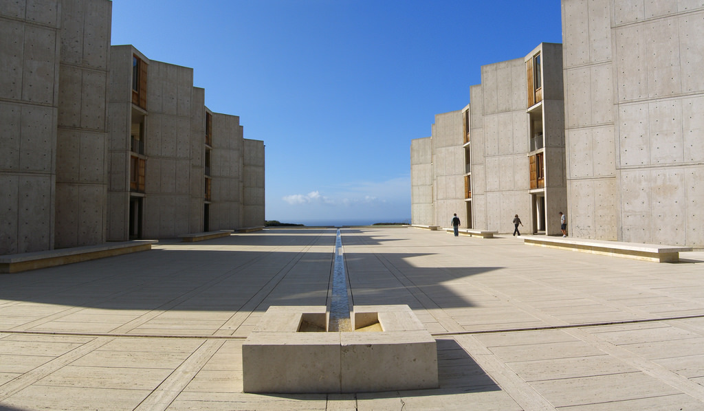 The Salk Institute. Image via flickr.